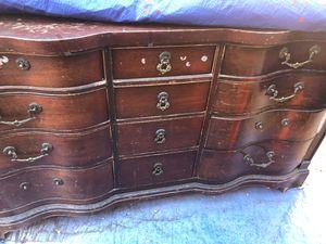 Free antique dresser for Sale in Altadena, CA