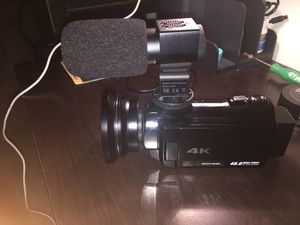 4K 16x zoom digital video camcorder for Sale in Lawton, OK