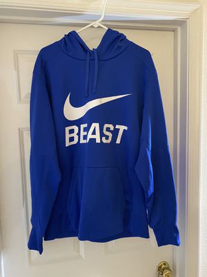 Nike Hoodie Blue size XL for Sale in Manassas, VA