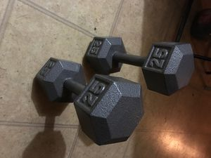 25 lb weights for Sale in Balch Springs, TX