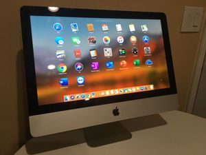 Completed Apple iMac 21.5 inch - All in One - Working Great for Sale in Anaheim, CA