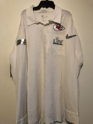 Kansas City Chiefs Superbowl Button Down Nike On Field Men's Shirt Size XL for Sale in Bel Aire, KS