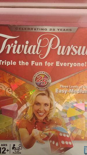 Trival pursuit board game for Sale in Alexandria, VA