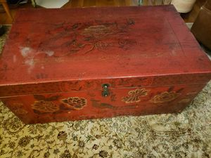 Antique chest from China (used as coffee table) for Sale in Washington, DC