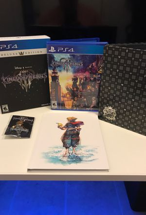 Kingdom Hearts 3 Deluxe Edition for Sale in Arlington, TX