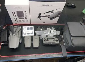 DJI Mavic 2 Pro Drone +Fly More Kit (MINT CONDITION!) - Grayish for Sale in Cudahy, CA