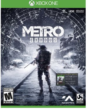 Metro Exodus Xbox one X or Xbox one - Digital code for Sale in Great Falls, VA