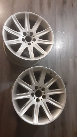 "BMW 7-Series 745 750 760 OEM Silver Rear 19"" x 10"" Wheel Rim 6753242-13 for Sale in Gardena, CA"