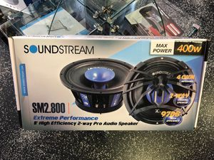 "SoundStream Extreme Performance 8"" 2-Way Pro Audio Speaker for Sale in Commerce, CA"