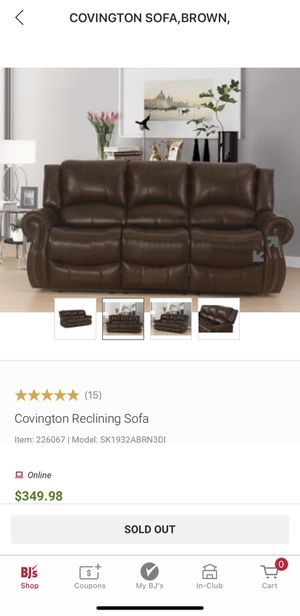 Reclining Sofa for Sale in Fairfield, CT