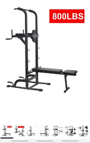 Brand new combo squat rack, bench press, pull up, dips, abs for Sale in Rockville, MD