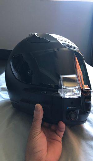 NUVIZ motorcycle helmet video camera, photos, navigation, Bluetooth, digital screen etc. for Sale in City of Industry, CA