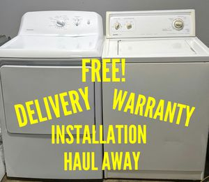 FREE DELIVERY/INSTALLATION/WARRANTY/HAUL AWAY - Kenmore Washer & Hotpoint Dryer for Sale in Hilliard, OH