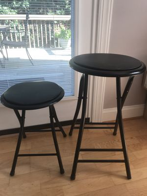 Stools- (2) for Sale in Raleigh, NC