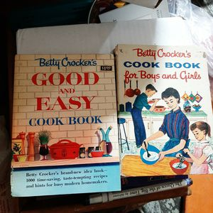 Betty Crocker's cook first EDITION book for boy and girls & Good and Easy Cook Book for Sale in Northbridge, MA