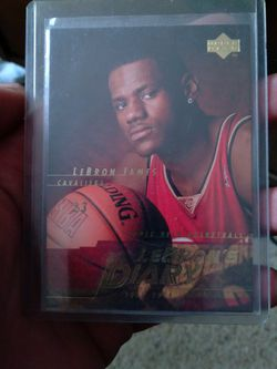 Lebron Rookie Card for Sale in Cleveland,  OH