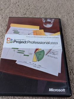 Microsoft Office Project Professional 2003 for Sale in Wheaton,  IL