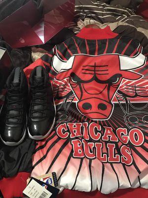 Jordan 11 and Jacket 2X for Sale in Detroit, MI