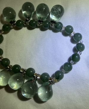 Jade and green natural stone bracelet for Sale in St. Louis, MO