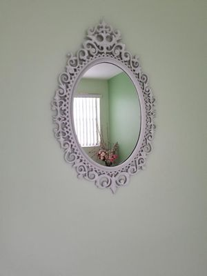 Antique White Mirror for Sale in Greenacres, FL