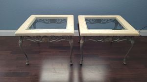 Marble end tables for Sale in Miami Gardens, FL