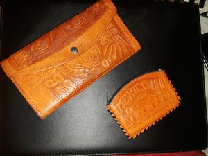 Set of 3 . Mexican purse, bill wallet and coin wallet for Sale in Las Vegas, NV