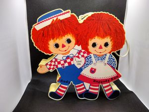 Vintage 1973 Raggedy Ann and Andy AM Radio w/strap for Sale in Overland Park, KS