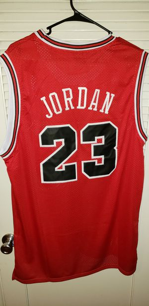 Men's XXL Fitted Michael Jordan Chicago Bulls Jersey New with Tags Stiched Nike $45. Ships +$3. Pick up in West Covina for Sale in West Covina, CA