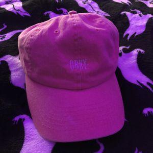 Obey Pastel Pink Hat for Sale in Encinitas, CA