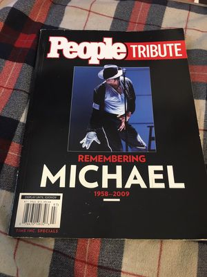 People tribute Michael Jackson magazine for Sale in South Gate, CA
