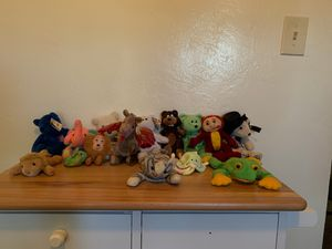 Ty beanie babies Rare (Group miscellaneous ) beanie baby bear. Collectible rare kids toys cheap valuable special plushie deal sell for Sale in Bostonia, CA