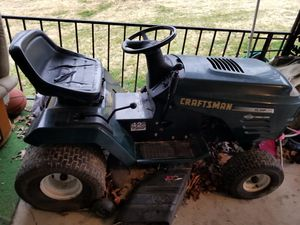 Craftsman Riding Lawnmower for Sale in Manassas, VA