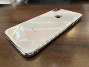 Apple iPhone X 64gb Silver Unlocked MQCT2LL/A A1865 (CDMA AND GMS) for Sale in San Gabriel, CA
