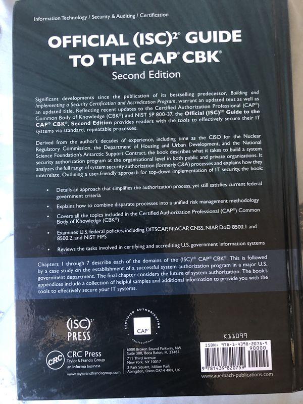 CAP Certification CBK