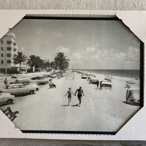 """Art Wall 1953 Foto fort Lauderdale Beach Size W22xH18"""" Kendall Area for Sale in Miami, FL"""