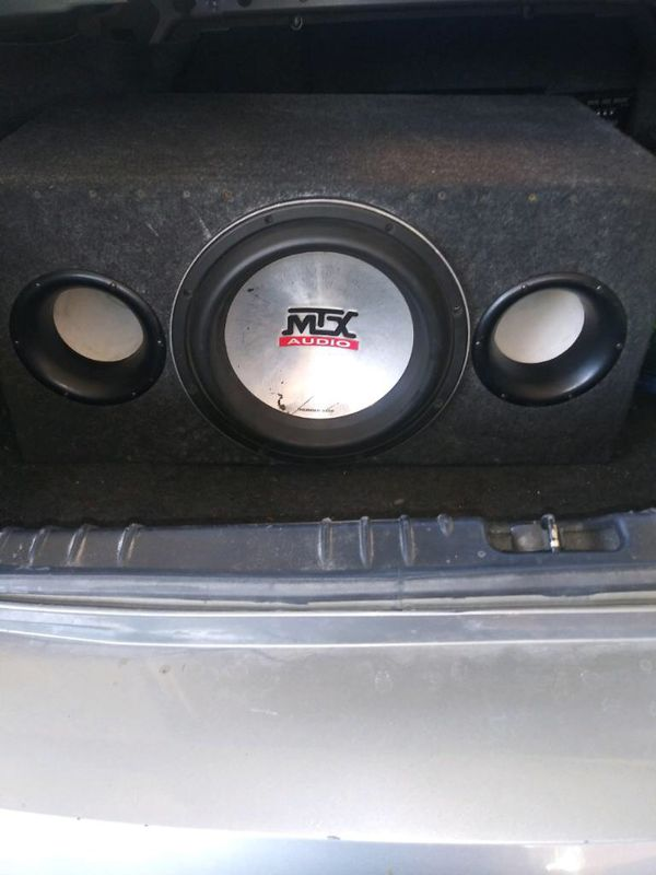 MTX 12 9500 1000RMS Subwoofer for Sale in Riverside, CA - OfferUp