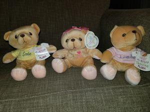 "Cherished Teddies- Plush Bear Set - Ava, ""Smile"" & ""Love Me"". for Sale in Louisville, KY"
