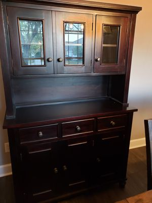 Create and Barrel China Cabinet for Sale in Katy, TX