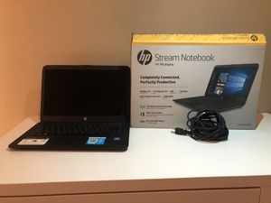 HP STREAM NOTEBOOK for Sale in Tysons, VA