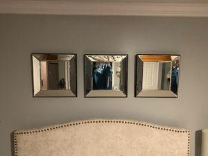Square glass wall mirror set for Sale in Lorton, VA