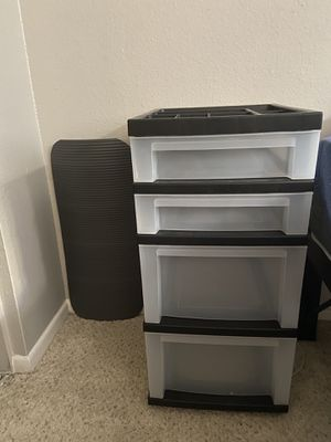 4-Drawer Storage Cart with Organizer Top for Sale in San Diego, CA