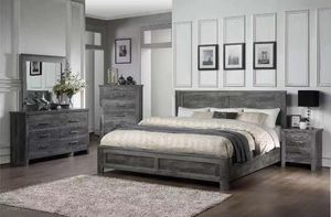 Bedroom Set 5pc 'Q' Size for Sale in The Bronx, NY