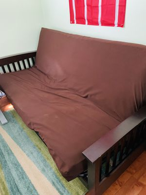 Futon with frame for Sale in Burke, VA