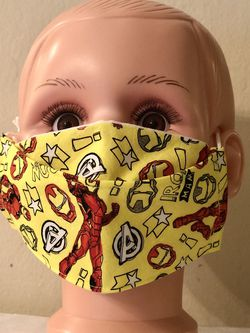 Iron Man Kid Size 3D Face Mask for Sale in San Jose,  CA
