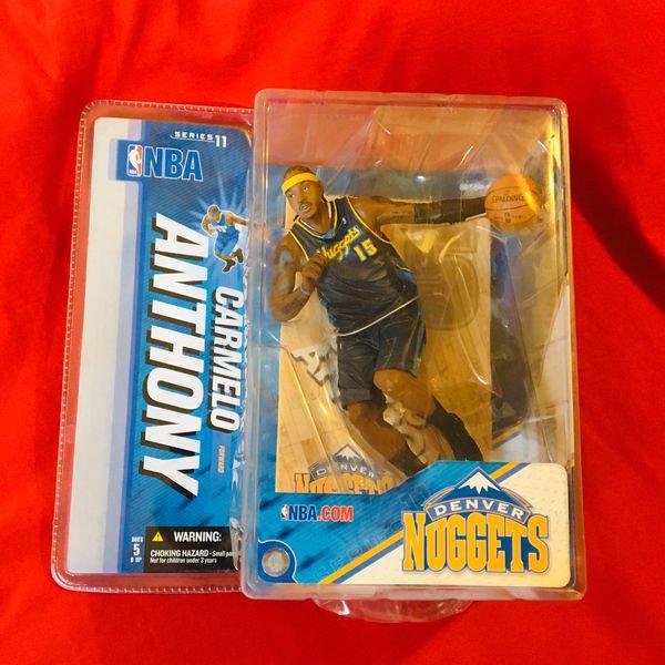 NBA Nuggets Carmelo Anthony figurine