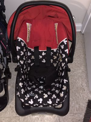 Safety 1st Mickey Mouse car seat for Sale in Jackson, MS