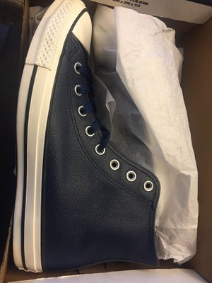 Leather chuck Taylor (blue) for Sale in North Chesterfield, VA