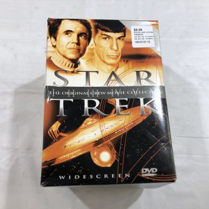Star Trek - The Original Movie Collection (DVD) (Missing IV The Voyage Home **Great Buy** 10012137-12 for Sale in Tampa, FL