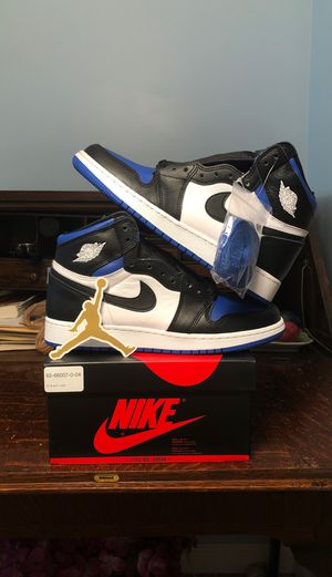 Air Jordan 1 High OG Royal Toe GS (Grade School) Size 6.5 for Sale in Kensington, MD