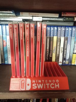 Nintendo Switch Case Stand (red) for Sale in Chino, CA